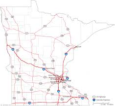 rochester mn map map of minnesota