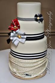 nautical themed wedding cakes nautical wedding nautical themed wedding cake 2054646 weddbook