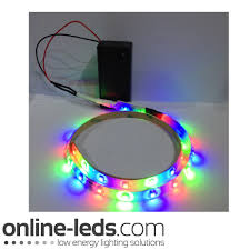 energy saving 9v battery operated 1000mm waterproof led strip