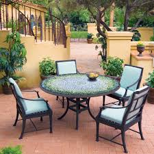 Mosaic Patio Furniture by Knf Garden Designs Knf Mosaic Bistro Table 60