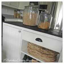 Glass Canisters Kitchen 2perfection Decor Our Summer Kitchen