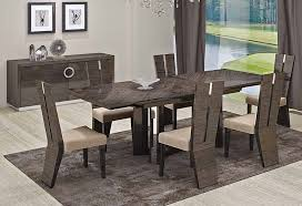 italian dining room sets modern furniture 19 lovely with 10