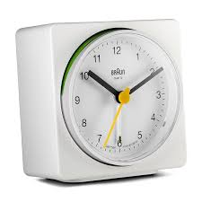 Minimalist Alarm Clock by Amazon Com Braun Bnc011whwh Classic Alarm Quartz Alarm Clock Watches
