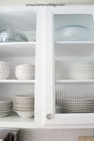 reeded glass cabinet door for upper cabinets kitchen kitchen