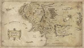 entire middle earth map where in middle earth was beleriand quora