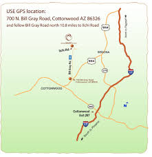driving directions maps driving directions sedona mago retreat