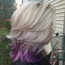 short hairstyles with peekaboo purple layer 20 pretty ideas of peek a boo highlights for any hair color main