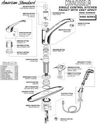 how to replace a single handle kitchen faucet awesome moen single handle kitchen faucet repair diagram 64 small