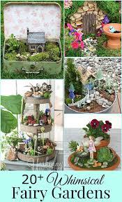 20 whimsical diy miniature fairy garden ideas house of hawthornes
