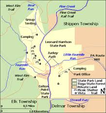 penn state park map colton point state park