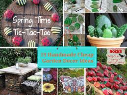diy home decor ideas on a budget 19 handmade cheap garden decor ideas to upgrade garden