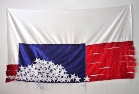 Black Flag American Waste 10 Reimaginations Of The American Flag In Art Sleek Mag
