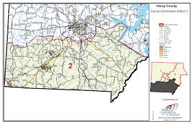 Circuit Court Map Commission District Maps U2013 Official Site Of Henry County Tn