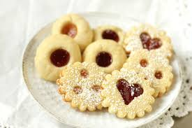 traditional austrian linzer cookies u0026 jam thumbprints