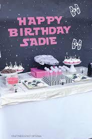 Star Wars Birthday Decorations 313 Best Kid Party Ideas Images On Pinterest Star Wars Birthday