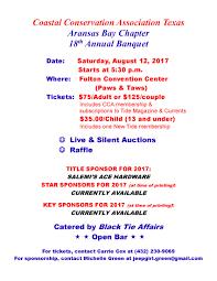 Ace Hardware Westheimer Houston Texas 2017 Cca Aransas Bay Annual Banquet U2013 Cca Texas