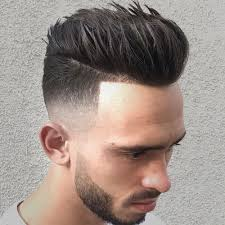 haircut with weight line photo pompadour fade haircuts men s hairstyles haircuts 2018