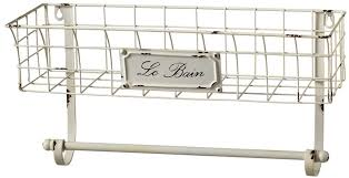 Le Bain Bathroom Accessories by Cbk Le Bain Wall Basket With Towel Holder From Elizabeth U0027s