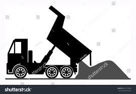 dump truck vector illustration stock vector 127134500 shutterstock