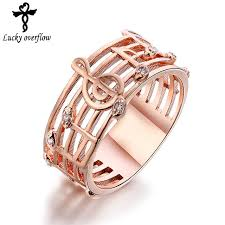 fashion wedding rings images 2018 hollow music design girls gold silver plated ring zircon jpg