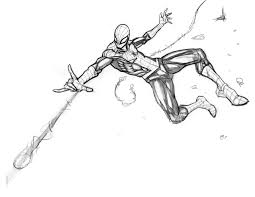 spiderman sketch by freddylupus on deviantart