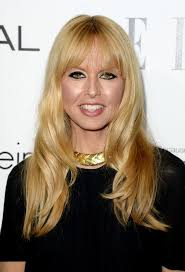 long hairstyles with bangs for women over 40 rachel zoe long soft wavy hairstyle with wispy bangs for women