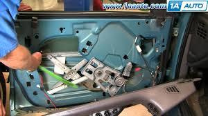 2001 dodge dakota window regulator how to install replace broken front window motor dodge intrepid 93