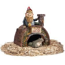 Toscano Home Decor Shop Design Toscano Garden Gnome Toad House 11 5 In Garden Statue