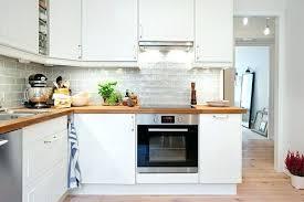 meubles de cuisine blanc cuisine blanche et plan de travail bois meuble blanc beautiful laqu