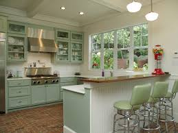 stained beadboard backsplash kitchen traditional with elevated