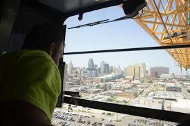 local 101 union crane operators revamp downtown kansas city the