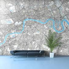 100 london wall murals wall mural in hanbury street london wall murals street map wallpaper in your own corporate colours enhance your