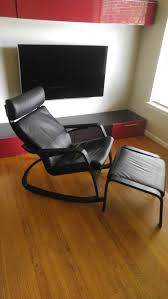 Laminate Flooring Singapore Ikea Ikea Poang Leather Rocking Chair And Ottoman For Sale In Dallas