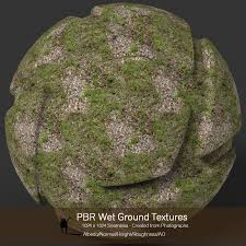 ground textures 10 seamless pbr wet ground textures with texture maps 2d graphics