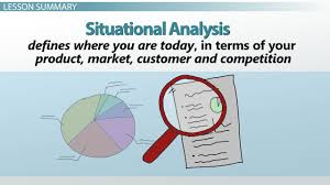sample of swot analysis report what is swot situation analysis in marketing video lesson situational analysis in marketing examples definition format