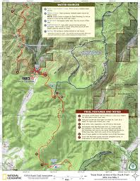 Oak Mountain State Park Trail Map by The Ozark Trail In Missouri Taum Sauk Section