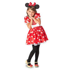 amazon com disney minnie mouse red polka dot halloween costume xs