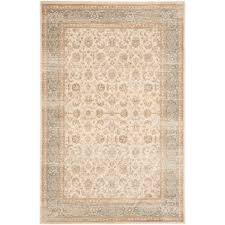 safavieh vintage ivory light blue 5 ft 1 in x 7 ft 7 in area