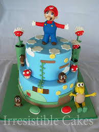 super mario cake a cake for my nephew u0027s 5th birthday he l u2026 flickr