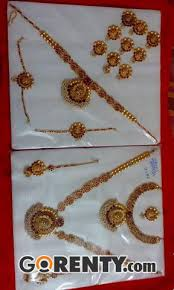 bridal sets for rent bridal jewellery sets for rent in chennai chennai gorenty post