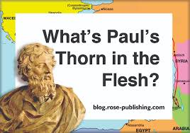 Discount Rose Book Of Bible Christian History Time Lines What Was Paul U0027s Thorn In The Flesh Rose Publishing