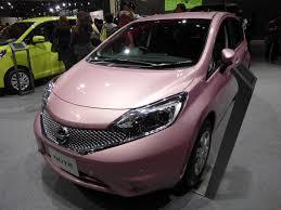 nissan pink file osaka motor show 2015 229 nissan note x dba e12 jpg