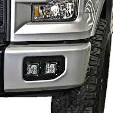 2015 f150 led fog lights ford f 150 fog light led cube brackets 2015 2017 apoc industries