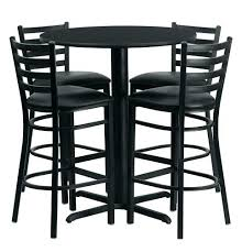 Pedestal Tables And Chairs Dining Table Black Glass Round Dining Table And 6 Chairs Room