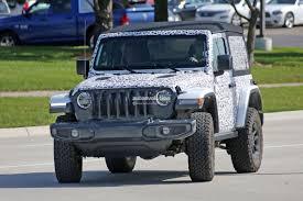 standard jeep wrangler leaked 2018 jeep wrangler 4 door jlu order guide is no longer a