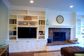 Built In Tv Bookcase Bathroom Entrancing Images About Bookcases Bookcase Styling