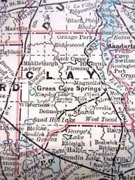 Crystal River Florida Map Index To Maps Available Online In Other Repositories U2013 Clay County