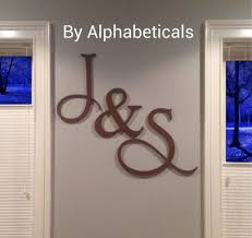 initial home decor home decor initials letters brilliant initial letter wall decor