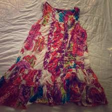 73 off kaktus dresses u0026 skirts floral dress made in india from