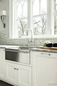 stainless farmhouse kitchen sink farmhouse sink stainless steel or cast iron hometalk wish farm with